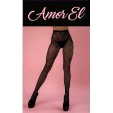Колготы с рисунком Amor EL (S/L)