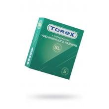 Презервативы Увеличенного размера гладкие Torex, 3 шт