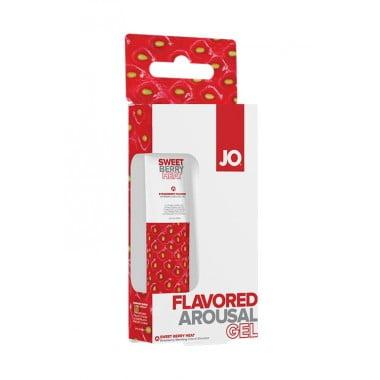 Вкусовое стимулирующее средство со вкусом клубники / JO Sweet Berry Heat - 10 мл.